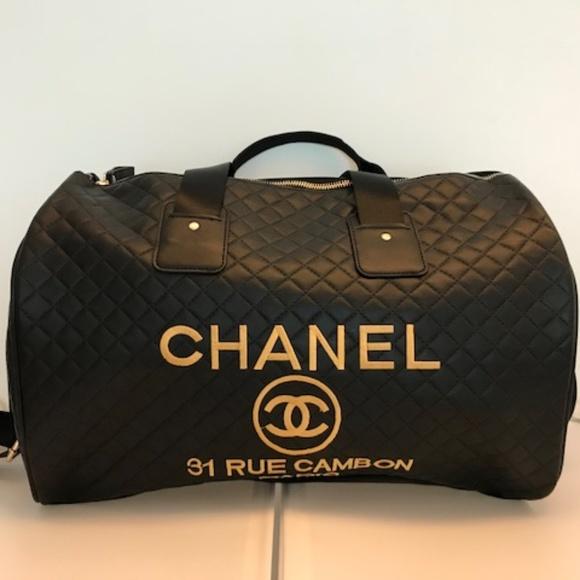 92ebbaa6e9 CHANEL Bags | Travel Bag Duffle Gym Bag Vip Gift Bag New | Poshmark
